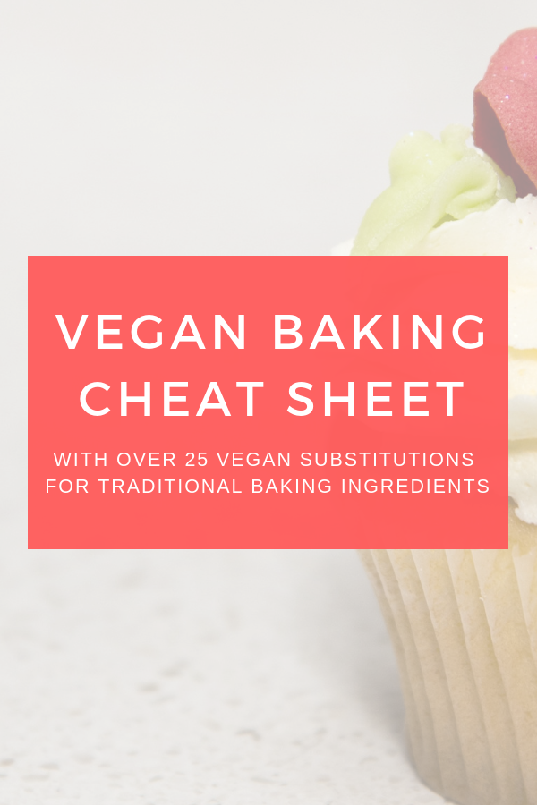 Cheet Sheet Vegan Baking