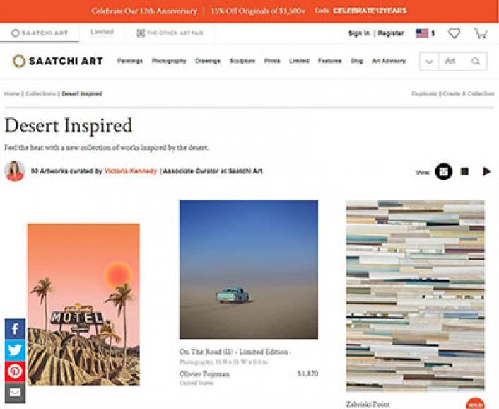 Saatchi Online Desert Inspired, featuring Kevin Caron's ocotillo - Kevin Caron