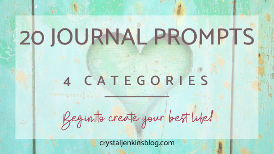 20 journal prompts