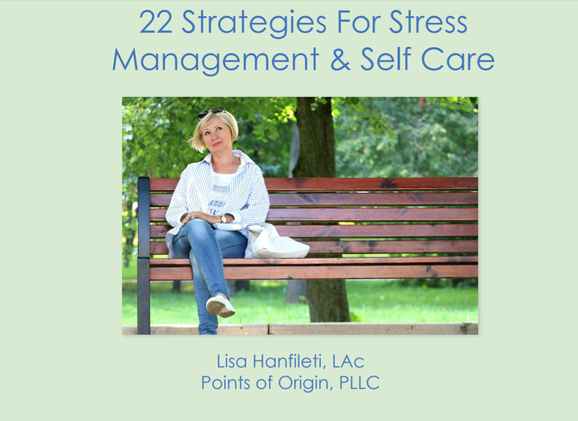 Free Download - 22 Strategies For Stress