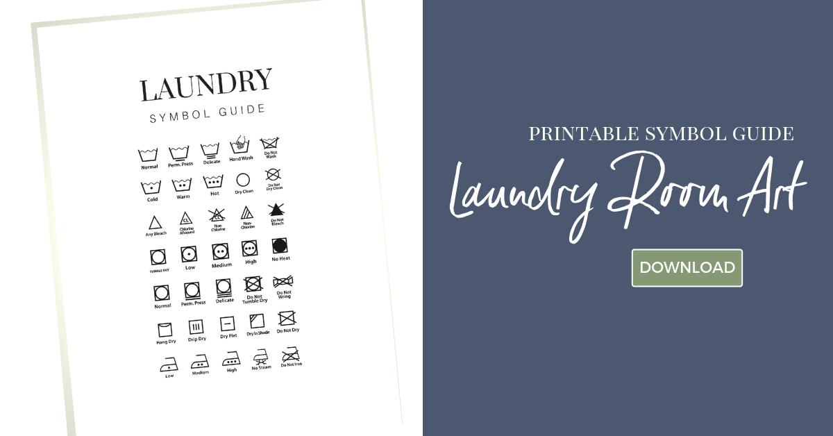 My Small Laundry Room Reveal Printable Art Freebie Organized Ish By Lela Burris