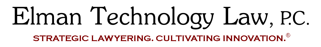 Elman Technology Law logo