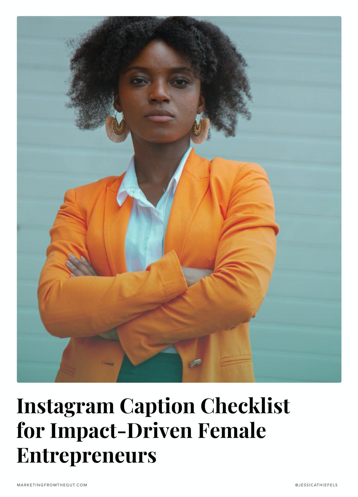 instagram captions checklist