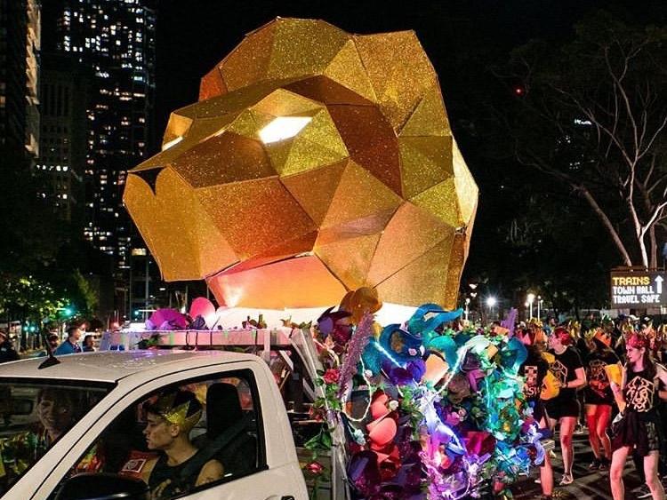 UNSW Mardi Gras Float