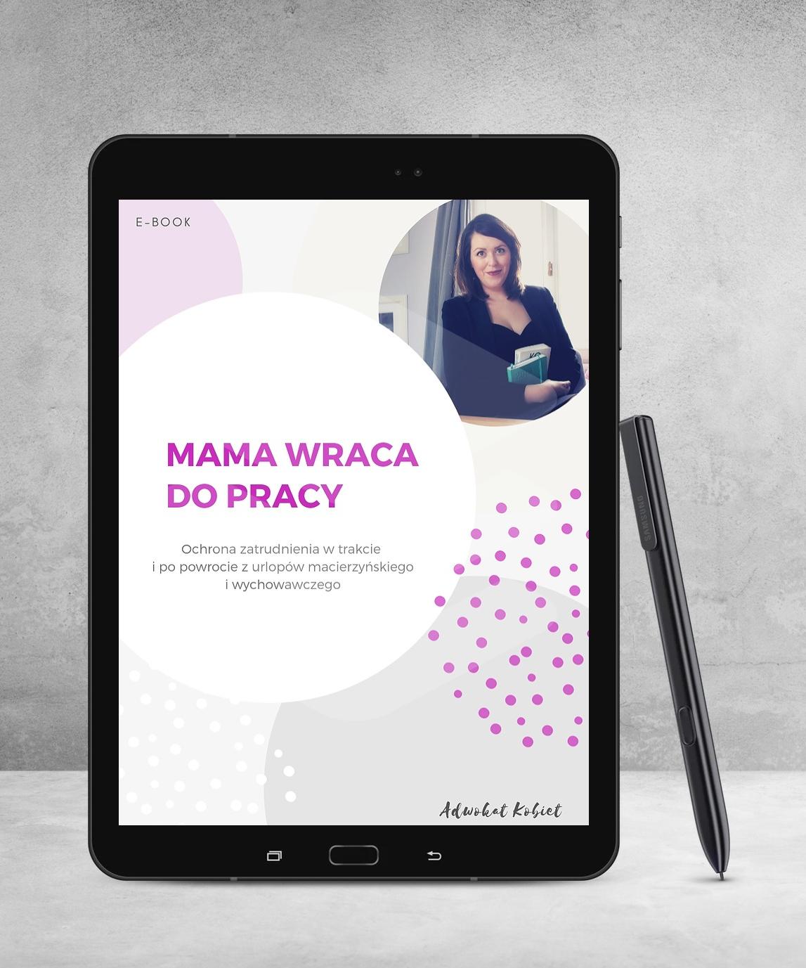 adwokat warszawa ebook prawo pracy ciąża urlop macierzyński