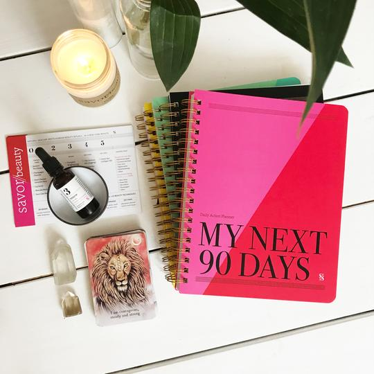 Enter to Win a Savor Life Planner