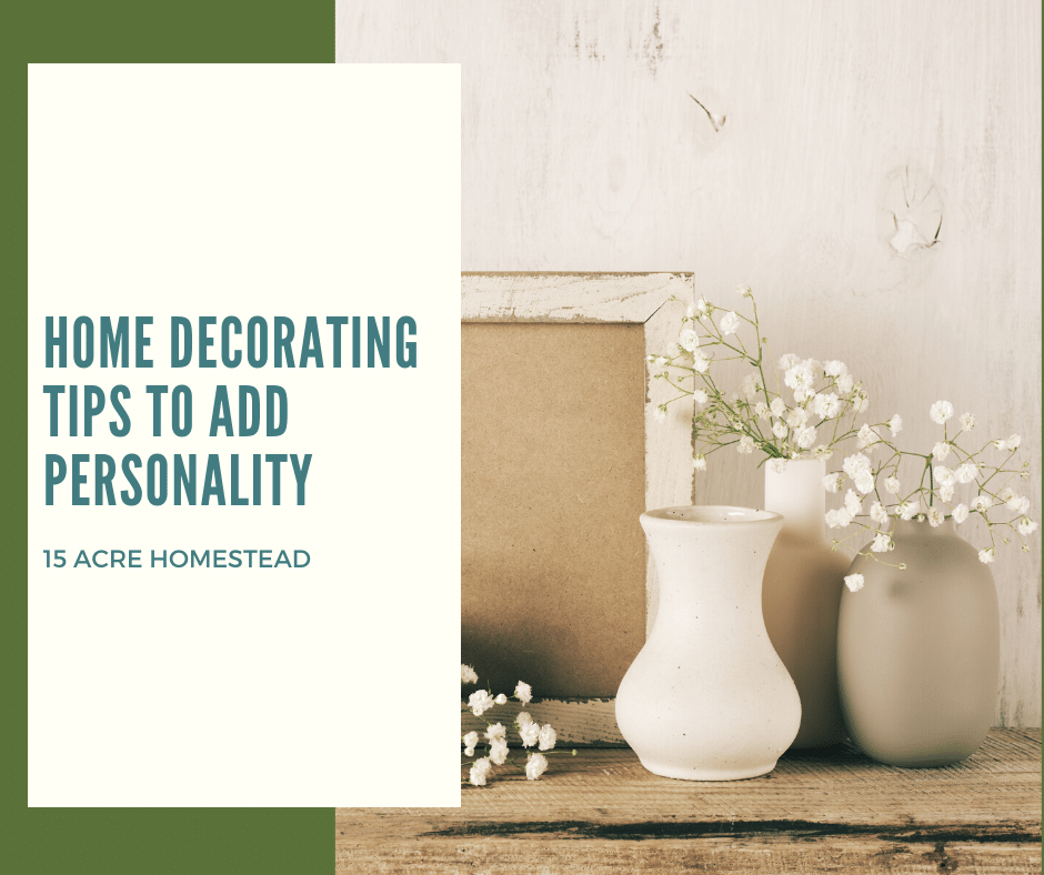 Home Decorating Tips to Add Personality