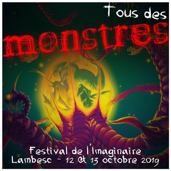 «Tous des monstres» - © 2019 Festival de l'Imaginaire du Pays d'Aix