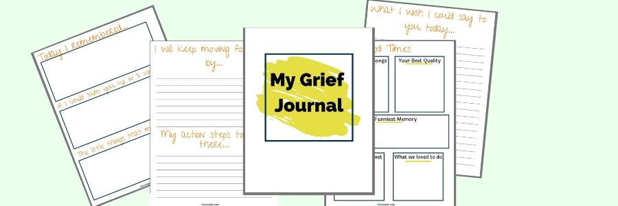 photograph about Printable Grief Workbook identify How In the direction of Select The Specifically Grief Magazine For Your self