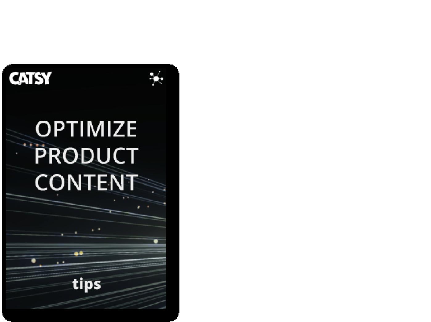 optimize product content