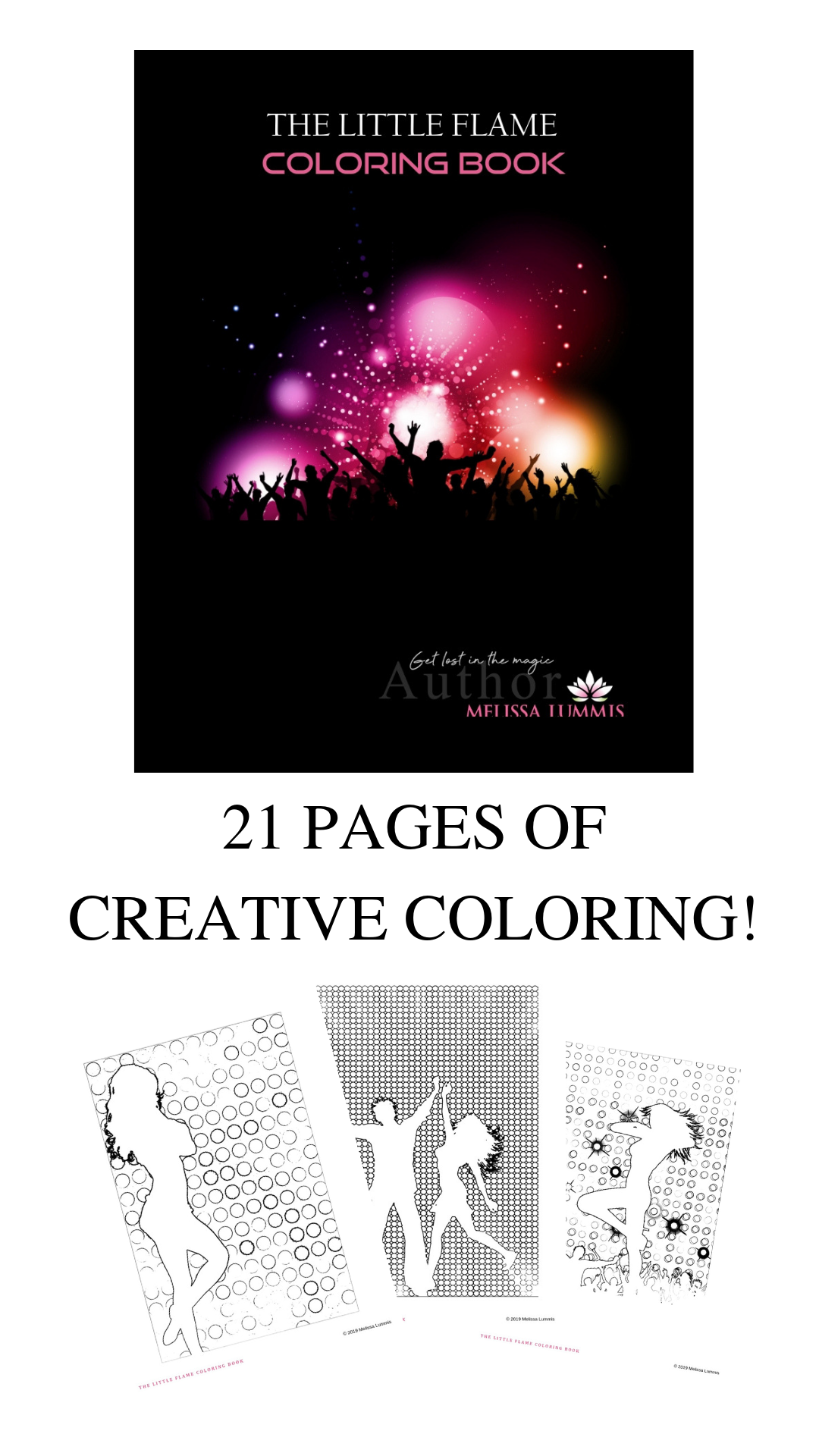 The Little Flame Coloring Book
