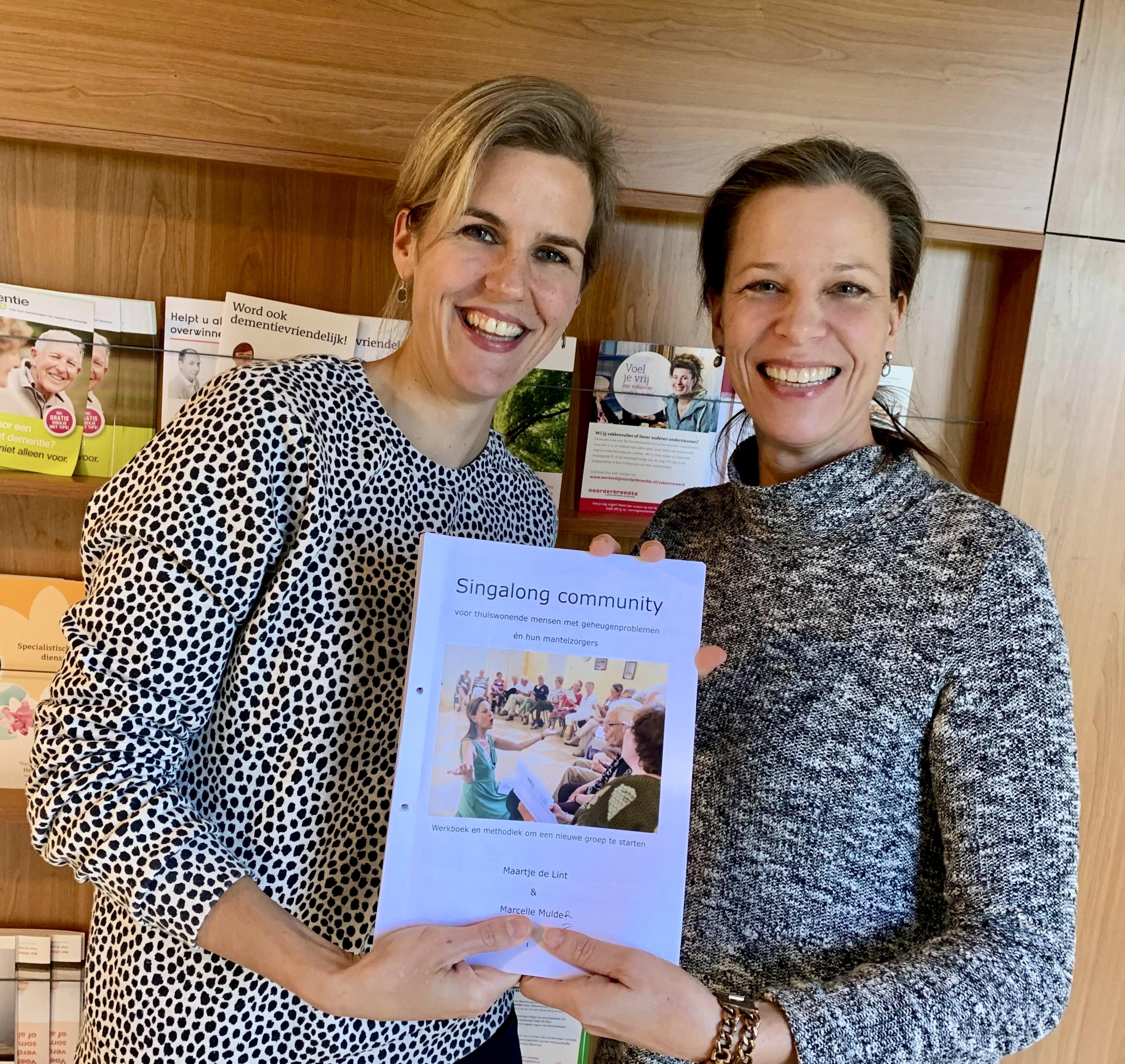 Foto Jacobien Oosterloo en Maartje de Lint
