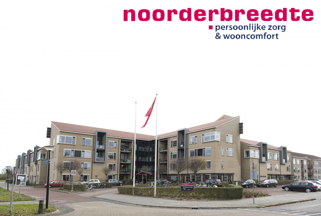 Meckema State met logo Noorderbreedte