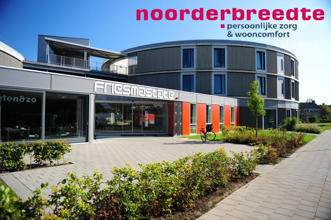 Friesma State met logo Noorderbreedte