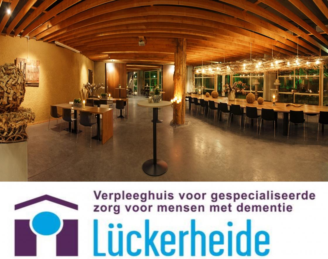 Foto Hof van Gaia en logo Lückerheide