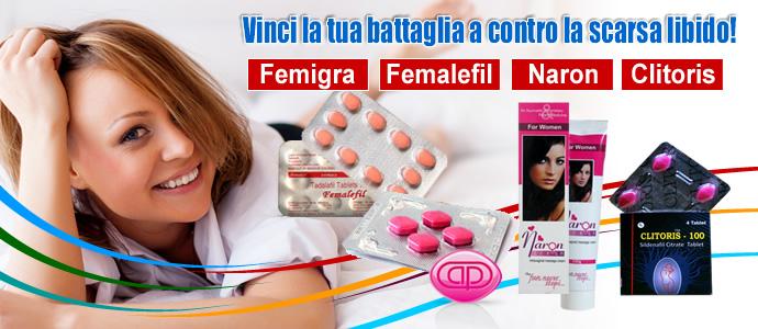 Prodotti per aumentare la libido femminile