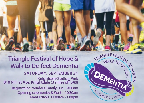Walk to De-Feet Dementia
