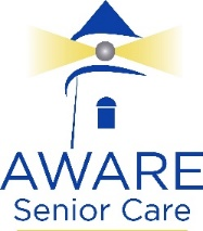 aware senior care logo