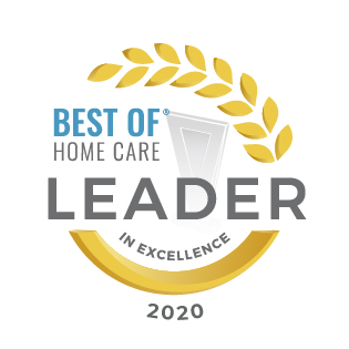 best of home care leader in excellence 2020