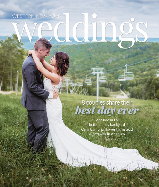 Request your free copy of WNY Weddings