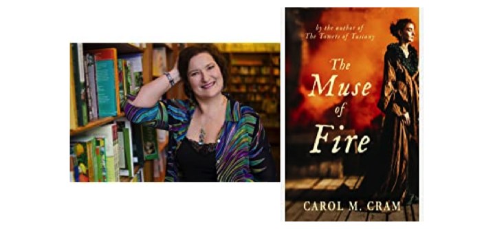 Carol M. Cram - author of The Muse of Fire