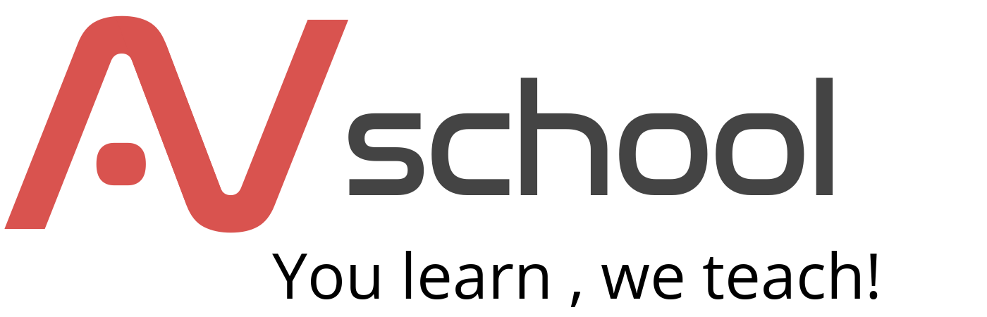 AV School LOGO You learn, we teach!