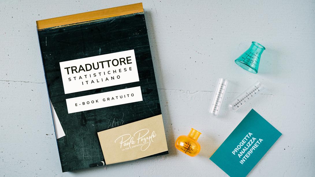 Anteprima e-book Traduttore statistichese italiano