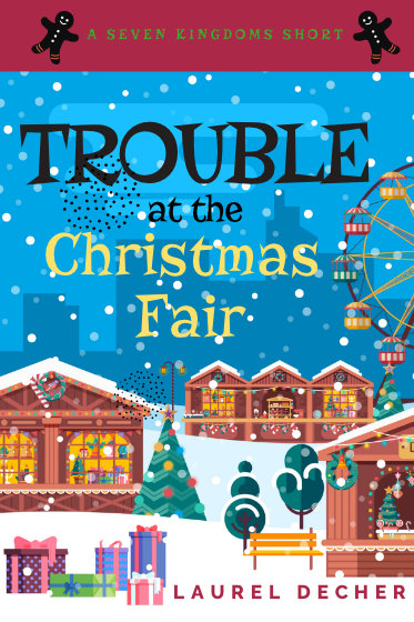 book cover Trouble At The Christmas Fair
