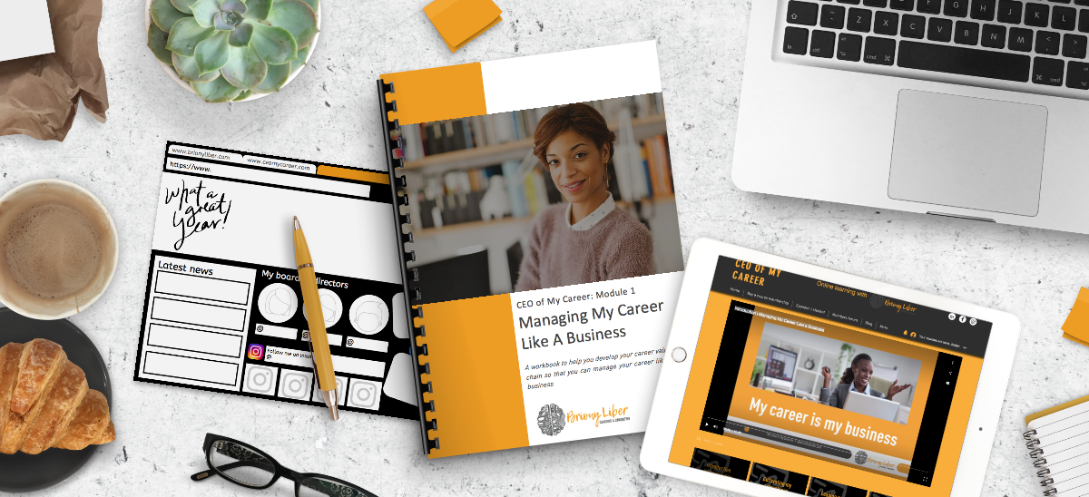 Banner: Managing My Career Like A Business
