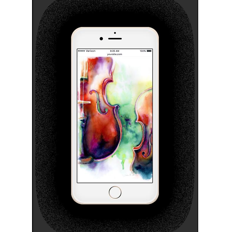 free phone background