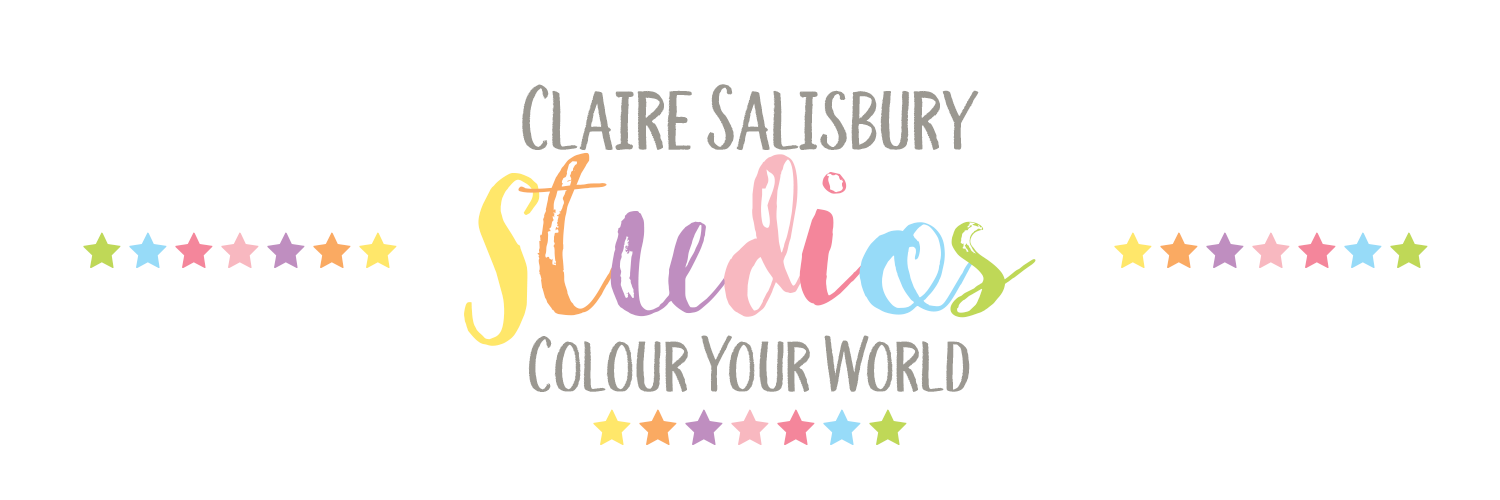 CLAIRE SALISBURY STUDIOS - COLOUR YOUR WORLD LOGO