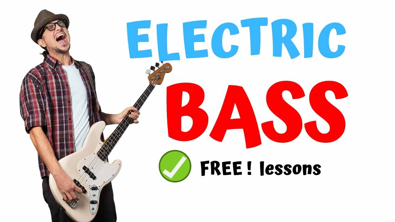 🥇 ELECTRIC BASS 🥇【 Bass Lessons for Beginners 】▷▷【PDF】