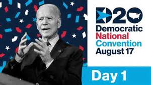Day 1:  Headliners at Democratic National Convention