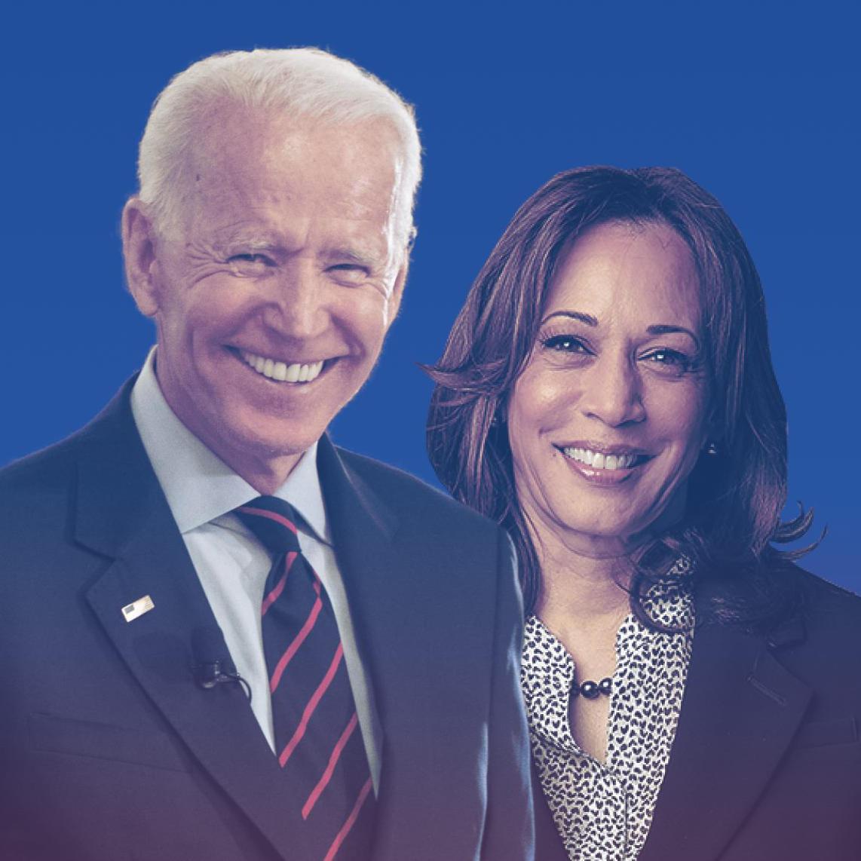 Joe Biden and Kamala Harris, 2020 election