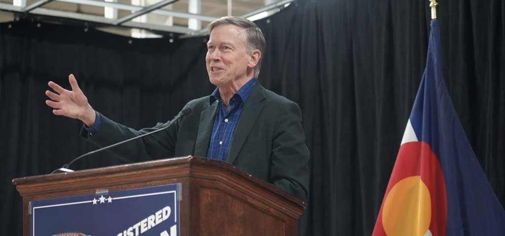 Coloradans Endorse John Hickenlooper for U.S. Senate