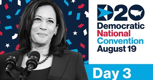 Day 3: Headliners at Democratic National Convention