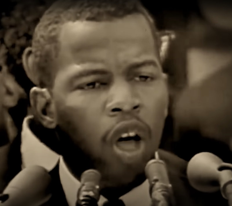 John Lewis--Against Donald Trump and White Racism