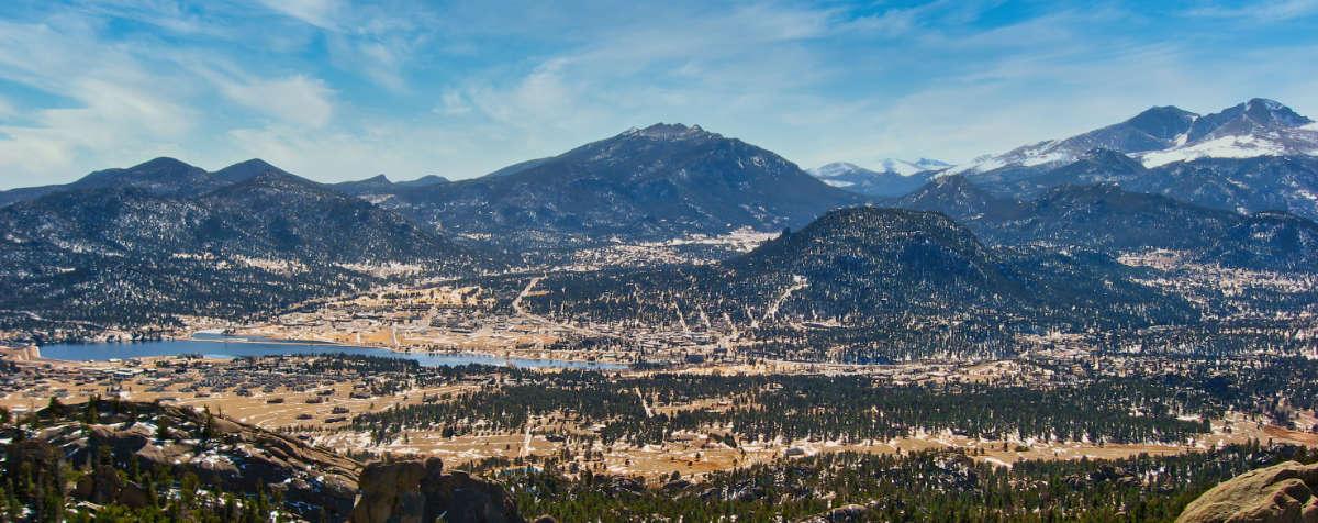 Estes Valley Panorama