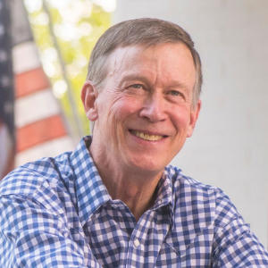 John HIckenlooper for U.S. Senator from Colorado