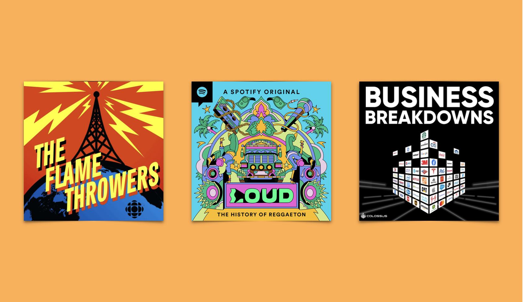 September 2021 Podcasts