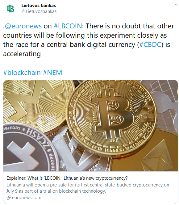 The reason why Lithuanians want to have Bitcoin but aren't buying any