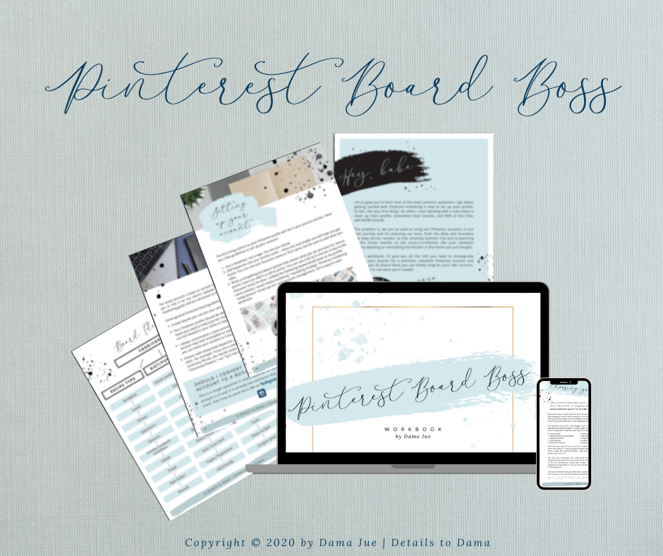 free pinterest marketing resource pinterest profile setup board ideas diy pinterest marketing