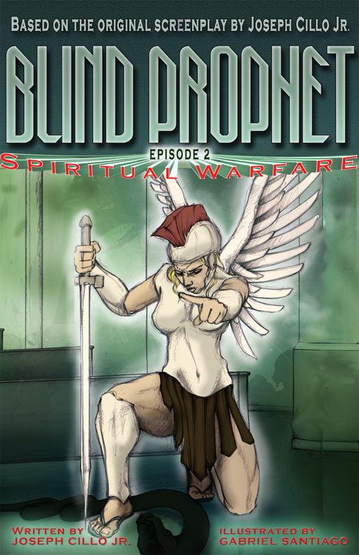 Get a FREE Blind Prophet, Episode 2: Spiritual Warfare EBook, with the special