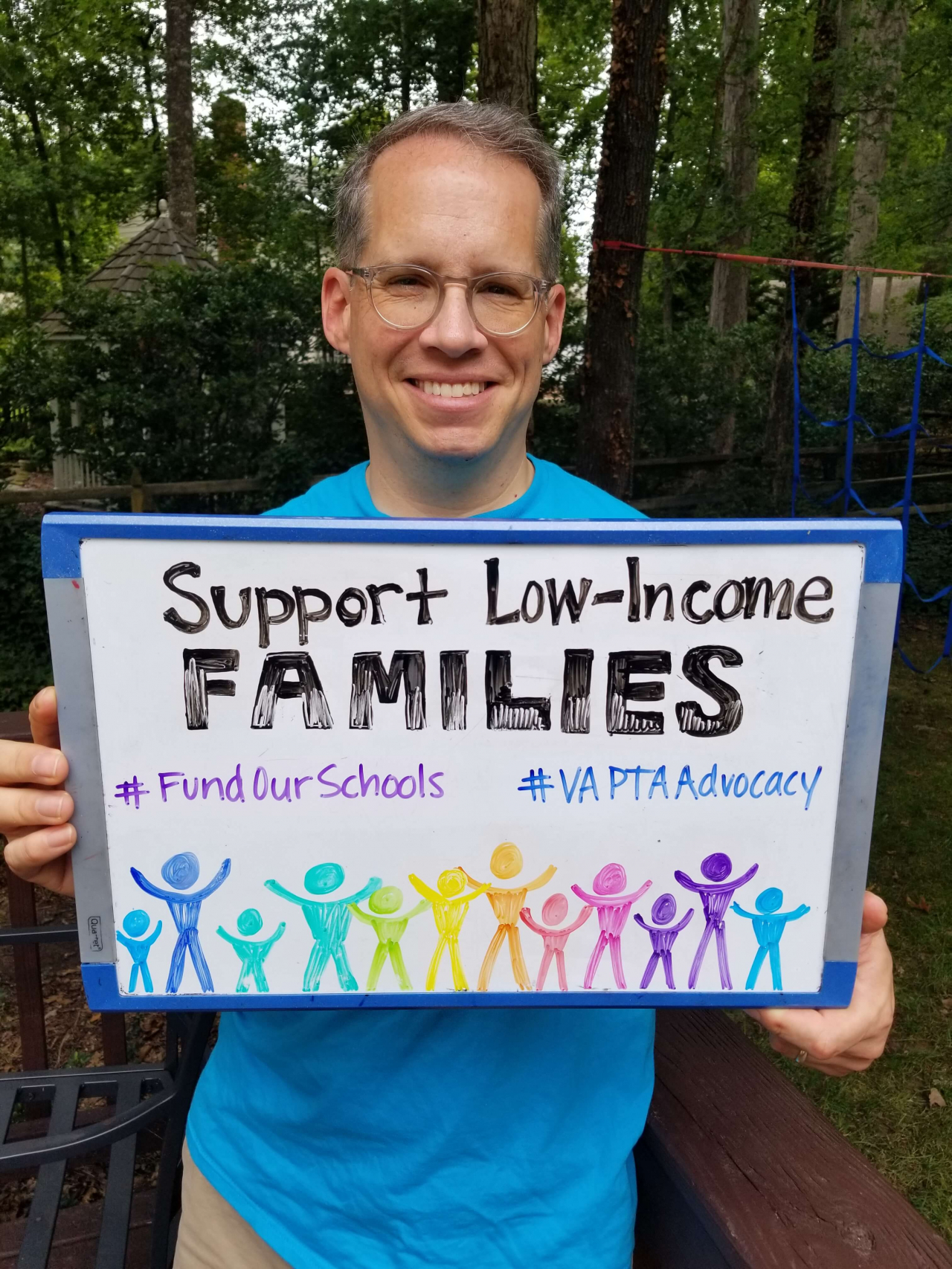 Example: Support low-income families. #FundOurSchools #VAPTAAdvocacy