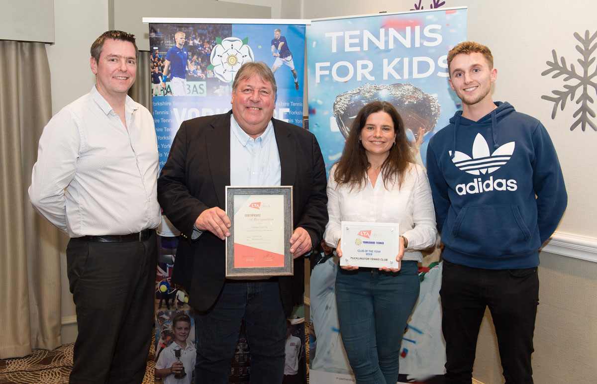 Yorkshire Tennis Awards 2019