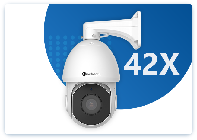 Milesight 36X/42X Speed Dome Network Camera