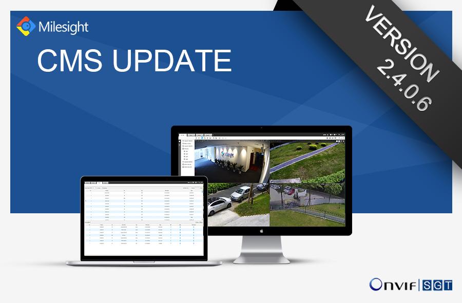 Milesight CMS's Change Log of Version 2.4.0.6