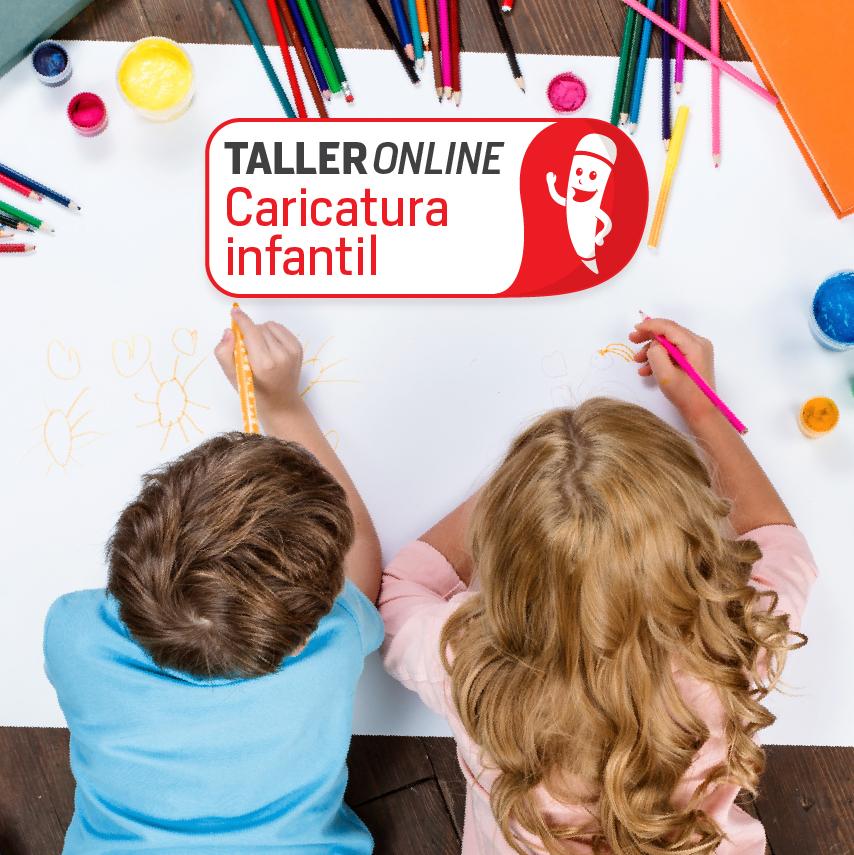 Taller online de caricatura infantil