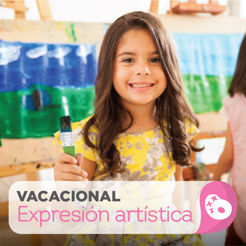 Taller vacacional de expresión artística infantil