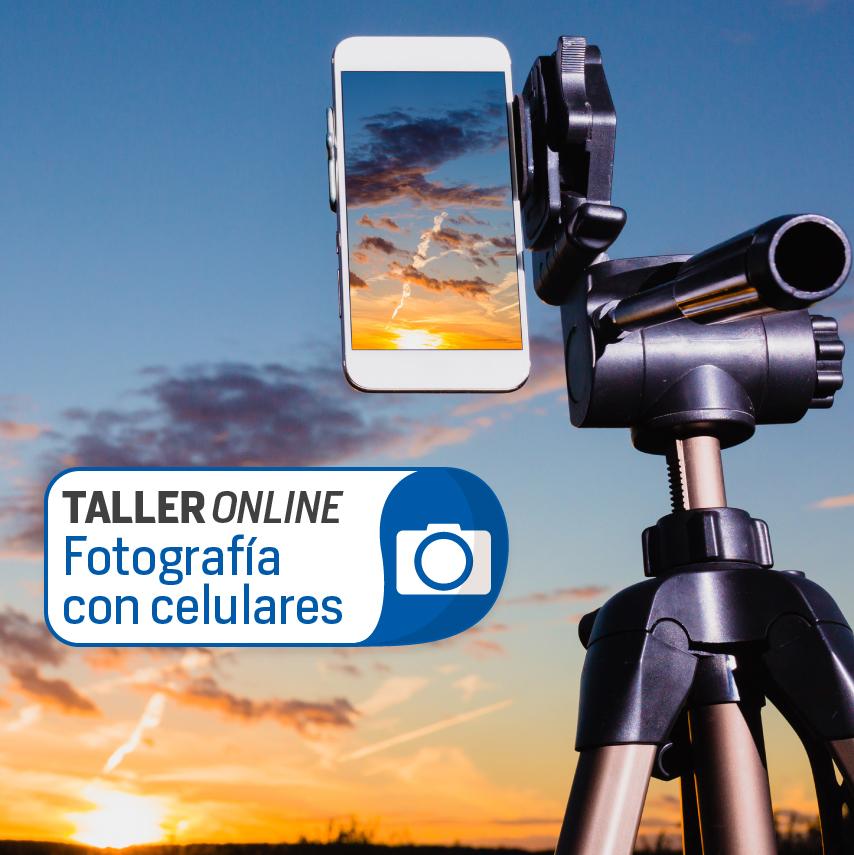 Taller online de fotografía con celulares